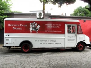 The Chez Pascal food truck brings tasty food to a location near you.