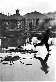 Cartier-Bresson's 1952 book was titled The Decisive Moment in the US edition.