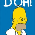 Homer Simpson Doh!