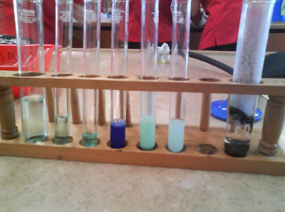 Experiments don't just happen in chemistry lab.